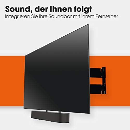 Vogel S Sound 3550 Universal Soundbar Halterung Auch Geeignet Für Bose Soundbar 500 700 Sonos Arc Beam Playbar Samsung Sony Lg Und Jbl Halter Für Vesa 100 Bis 600 Max Gewicht 6 5 Kg Heimkino Tv Video