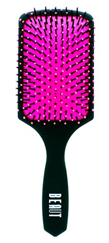 Wet & Dry Paddle Detangling Hair Brush Cushioned for Shower