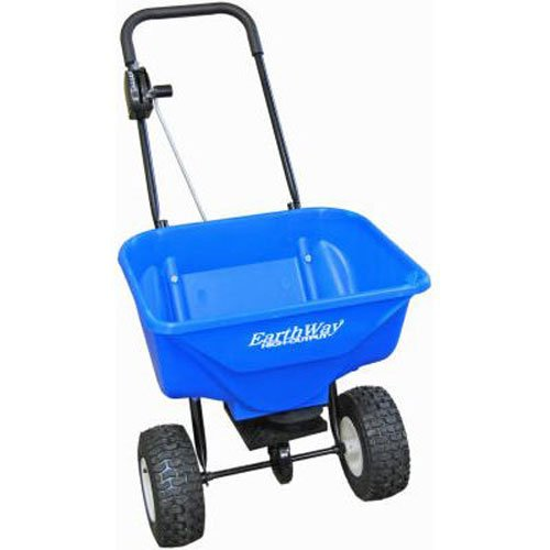 Earthway 2040PiPlus High Output Snow and Ice Melt Spreader with Solid Rod Linkage