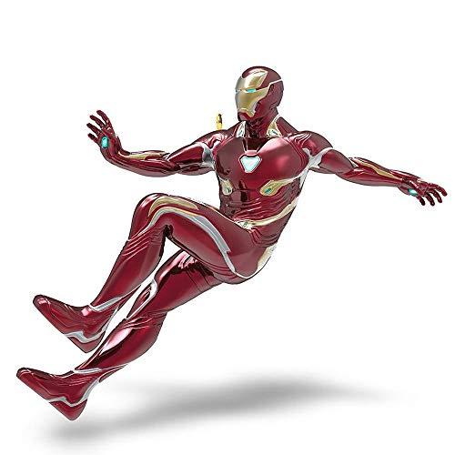 Hallmark Keepsake Christmas Ornament 2018 Year Dated, Marvel Avengers: Infinity War Iron Man With Light -