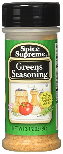 Greens Seasoning 3.5 oz Spice Great on Salads and Vegetables