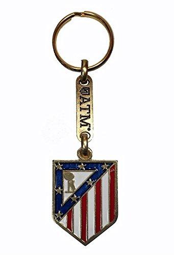 Llavero Oficial Atlético de Madrid, Escudo ATM: Amazon.es ...
