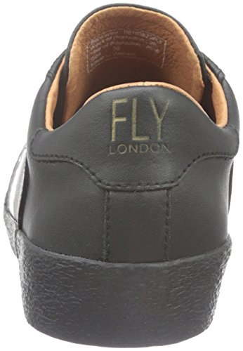 para London Mujer Negro Zapatillas Fly Black Berg823fly tOdqwPP