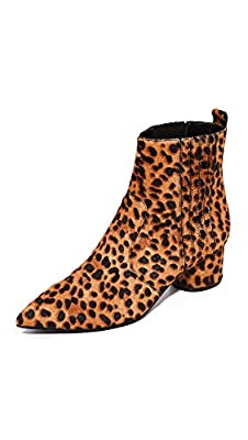 KENDALL + KYLIE Women's Lacely Leopard Booties