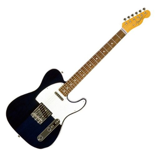 fender japan tl62b transparent blue japanese electric guitar japan import buy online in uae. Black Bedroom Furniture Sets. Home Design Ideas