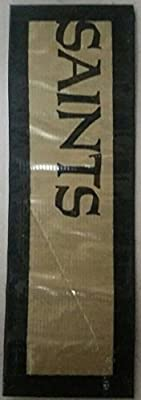New Orleans Saints NFL Duct Tape Book Mark