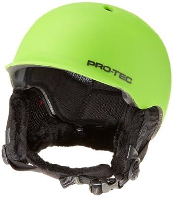 PROTEC Original Pro-tec Riot Snow Helmet, Matte Green, Small