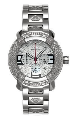 Aqua Master Men's #96 20-Diamond Watch by Aqua Master