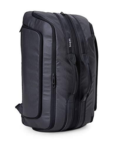 blnbag M2 – Cabin Size Backpack Reisetasche 2 in 1 wandelbar, Handgepäck Reiserucksack mit Laptopfach, Fahrradrucksack Sporttasche mit USB-Port, RFID, 40 Liter , Anthrazit