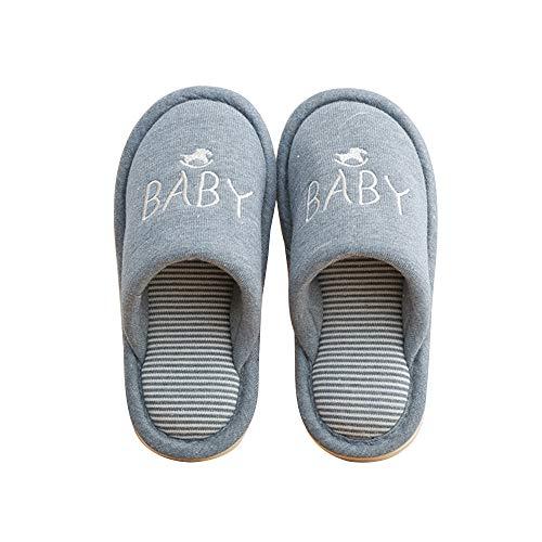 Mae Bleufoncé Summer Hiver Enfant Coton Pantoufles baby en Parent F0dwZHq