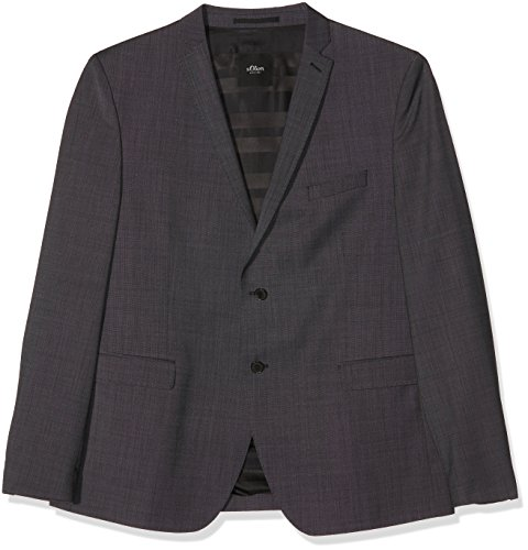 Black Blazer S Grigioanthracite oliver Point Label 98m6 Pin Uomo PTXwkZuOi