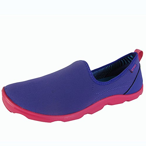 crocs Duet Busy Day Skimmer 14698-02S-520 Damen Ballerinas Ultraviolet/Poppy