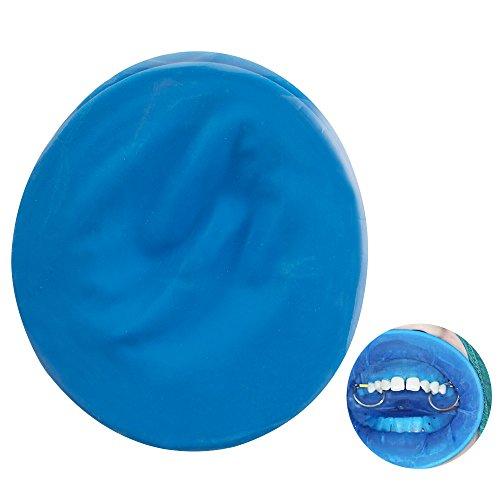 Carejoy 10Pcs Dental Disposable Rubber Dam Cheek Oral Mouth Retractor Opener Sterile - Blue