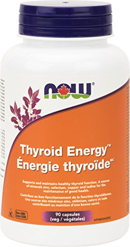 NOW Thyroid Energy,90 Veg Capsules (Thyroid Assist)