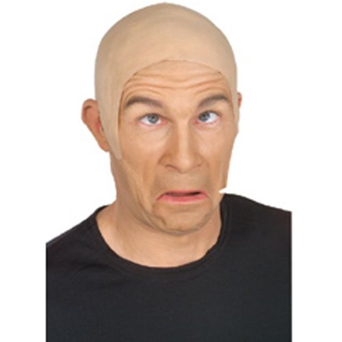 Rubie's Costume Skin Head Bald Cap Adult - Flesh Color]()