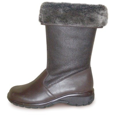 Toe Warmers Women's Shelter Boots Dark Brown 7 M by Toe Warmers
