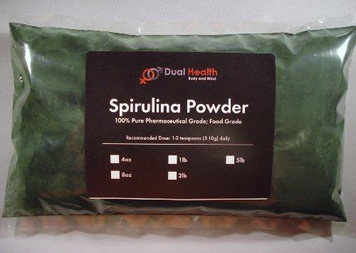 £ 5 spiruline en poudre (2,27 kg) Perte de poids Diète Fat Burner énergie casher Protein algues # 1 Supplément USP et FCC de qualité alimentaire En double Santé