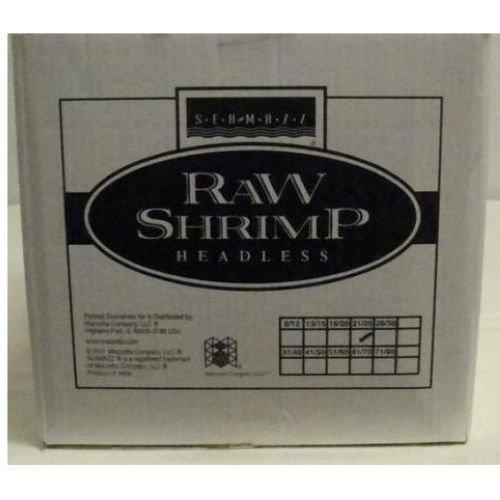 Seamazz Easy Peel White Shrimp, 21/25 Count -- 10 per case. by The Mazzetta Company