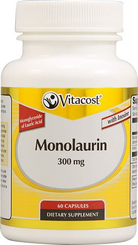 Vitacost Monolaurin — 300 mg – 60 Capsules – 2PC Review