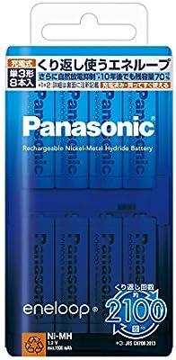 Panasonic Eneloop AA Bk-3mcc / 8 - 10138547 , B00C48U2N6 , 285_B00C48U2N6 , 1131788 , Panasonic-Eneloop-AA-Bk-3mcc--8-285_B00C48U2N6 , fado.vn , Panasonic Eneloop AA Bk-3mcc / 8