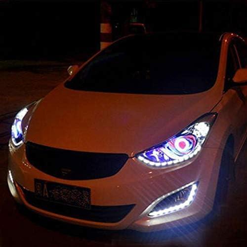 Naliovker 5Pcs 10Cm Blanc /éTanche 5050 Led Bande LED Voiture de Bateau Caravane 12V