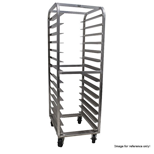 Advance Tabco PDB14 End Loading Pizza Dough Box Rack with Open Sides & (14) Box Capacity by Advance Tabco