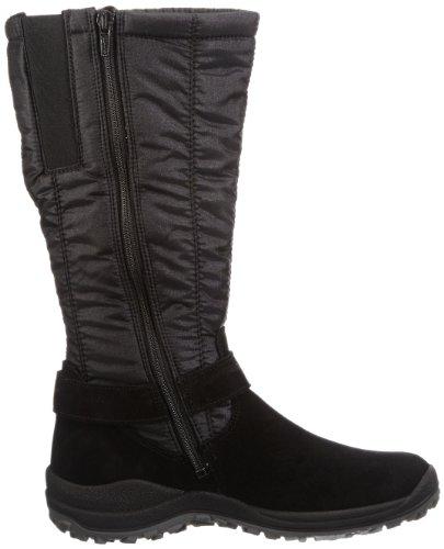 Legero Ancona - Botas planas, color: negro negro - Schwarz (Schwarz 00)