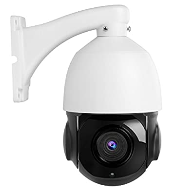 Anpviz PTZ Security Camera, H.265 5MP PoE IP Dome Camera, HD 2592x1944 Pan Tilt 30x Optical Zoom, High Speed Outdoor Dome Camera Waterproof IP66 (Update to 5MP 30x ) from HYKAMIC