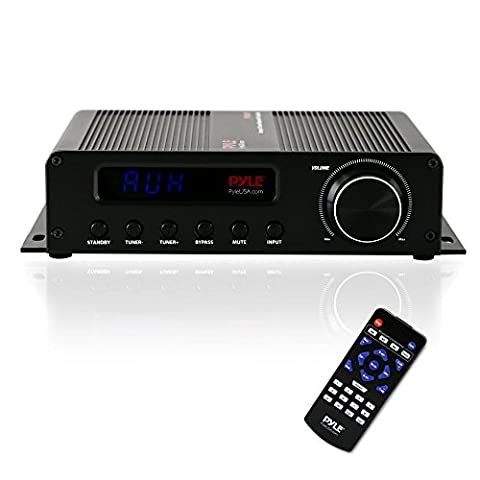 Pyle PFA540BT Bluetooth Amplifier Home Theater Receiver (Small Tuner)