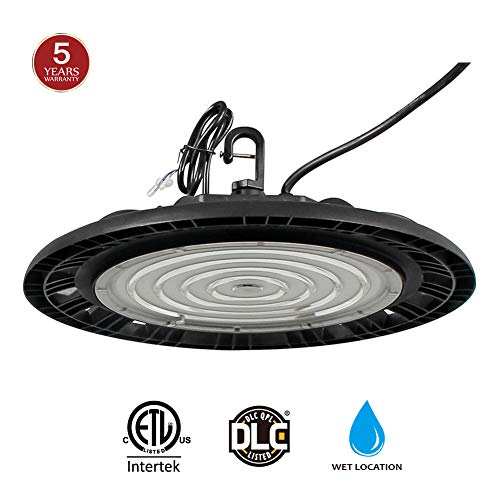 LED High Bay Light, 150W Replacing 600W HID/HPS, 19500 Lumens Dimmer Cord Included 5000K LED UFO High Bay Warehouse Lighting, DLC & ETL Listed 5-Year Warranty by Kadision price tips cheap