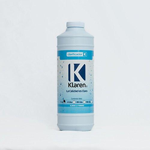 Clarificador Klaren Para Eliminar Agua Turbia de Albercas, Piscinas y Spas. (0.946 litros)