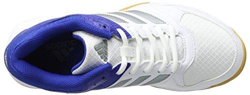 adidas Herren Speedcourt M Handballschuhe Weiß (FTWWHT/NGTMET/CROYAL)