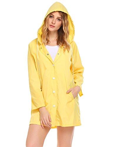 SoTeer Womens Lightweight Raincoat