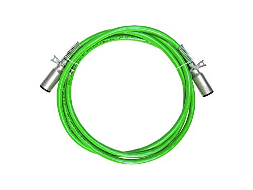 Road King Straight 7-Way Truck and Trailer Electric Cable ABS Duty Green – 15′ Working Length