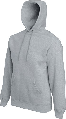 Heather GrisGrey LungheDa Maniche Of pullover A The Loom Uomo Fruit Sportivo R354jqAL