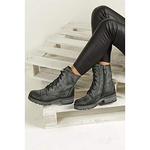 Winterschuhe Stiefel Graphit Maciejka Damen 3812A Wildleder Boots nqZOqa0wX