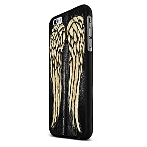The Wing of Walking Dead Custom Case for Iphone 5/5s/6/6 Plus (Black iPhone 6)