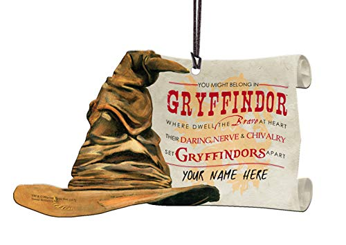 (Trend Setters Harry Potter Sorting Hat Gryffindor Personalized Hanging Acrylic)