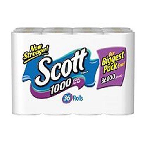 Scott 1000 Sheets Per Roll Toilet Paper, Bath Tissue