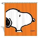 CafePress - Snoopy - Decorative Fabric Shower Curtain
