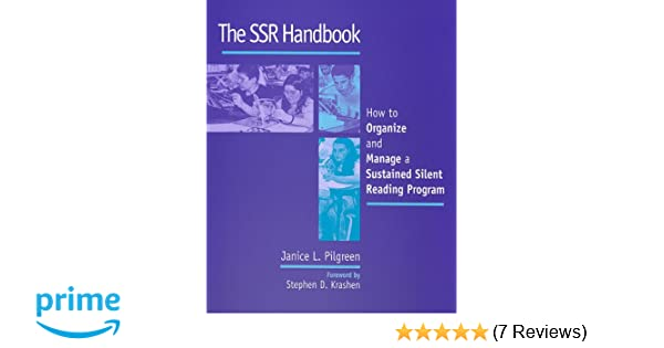 Amazon com: The SSR Handbook: How to Organize and Manage a Sustained