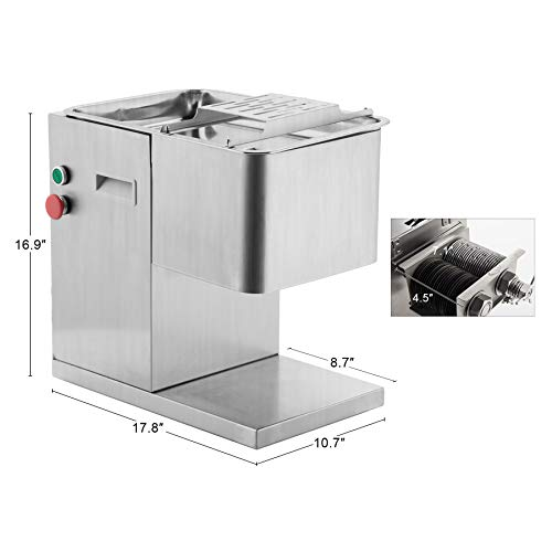 Amazon.com: CO-Z 110V Commercial Meat Cutting Machine Meat ...
