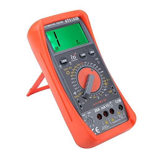 Akozon Tachometer Meter AT2150B Handheld Automotive Tachometer Meter/LCD Display Digital Multimeter by Akozon (Image #4)