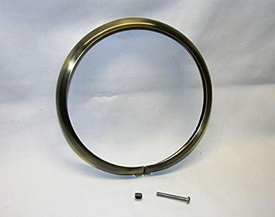 "Mr Luckys Antique Brass Trim Ring for 5-3/4"" Bates style Headlights; Custom, Chopper, Retro"