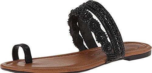 Jessica Simpson Women's Rakelle Dress Sandal, Black, 8 M US