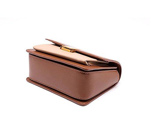 Lady'S Lady'S Brown Shoulder Bag Single Slanted Bag Bag Bag With aFqPFxwR