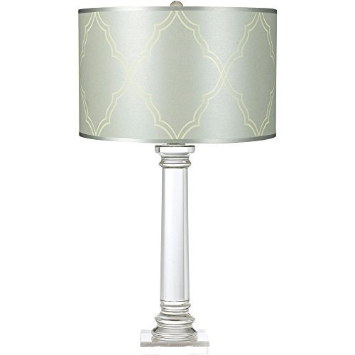 (Candice Olson Lighting Trellis Table Lamp, Crystal/Blue by Almo Fulfillment Services LLC)