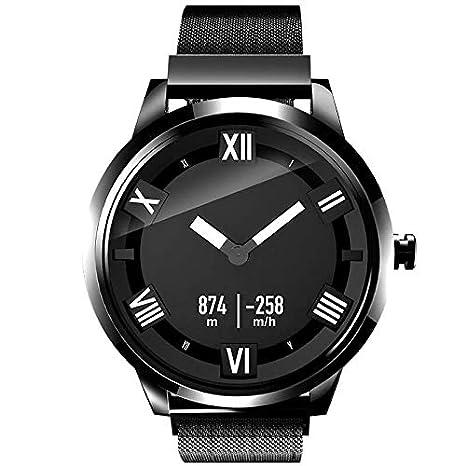 Reloj inteligente de Moda Lenovo Watch X Plus Correa de Acero Inoxidable milanesa, Soporte Monitor de Ritmo cardíaco/Monitor de sueño/Foto de ...