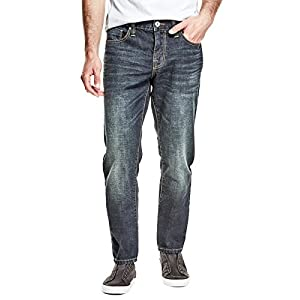 GUESS Factory Men's Halsted Slim Tapered Jeans