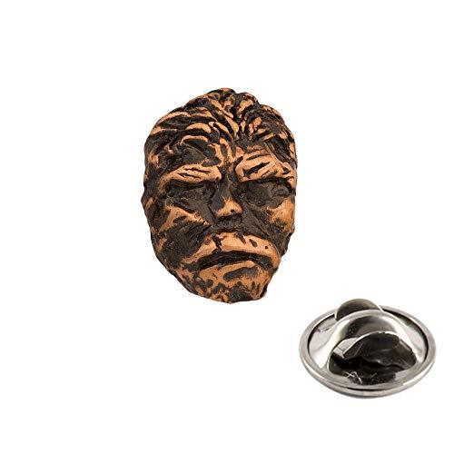 Creative Pewter Designs Sasquatch (Bigfoot) Full Body Copper Plating Pin, AC174MP